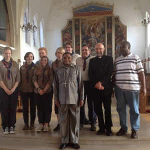 Visit of Archbishop Jacob of Tanzania, June 2014