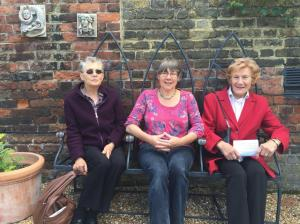 Visitors to Bishopcourt Open Garden
