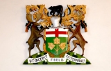 Ontario coat of arms from Orpington Hospital