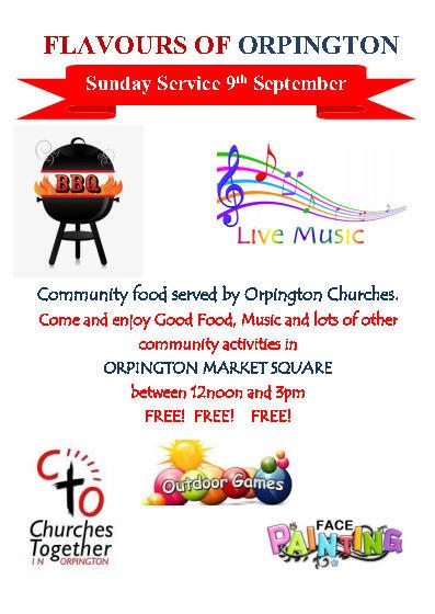 food festival leaflet