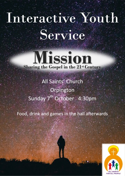 youth service oct18poster