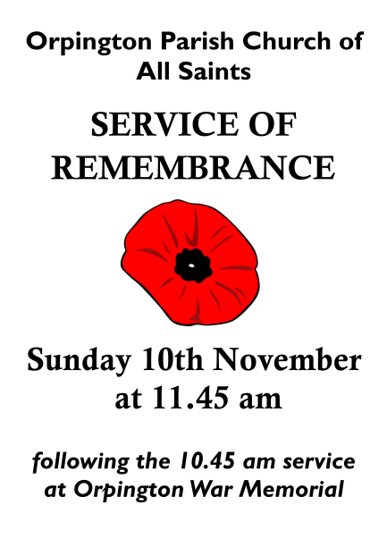 remembrance 2019 poster